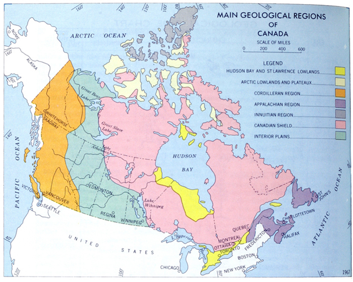 Geological regions of canada main geological regions of canada sciox Images